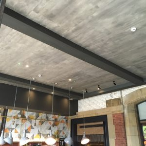 Innerspace Cheshire - Concrete Wallcovering