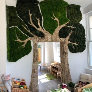 Innerspace Cheshire - Naturemoss & Bark