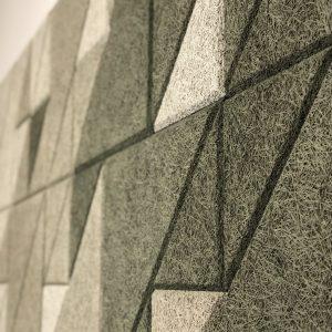 WOOLLYWALL - Wood Wool - Geometric