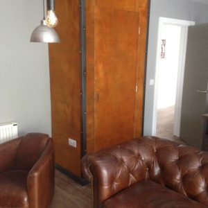 Innerspace Cheshire - Rust Plain Wallcovering