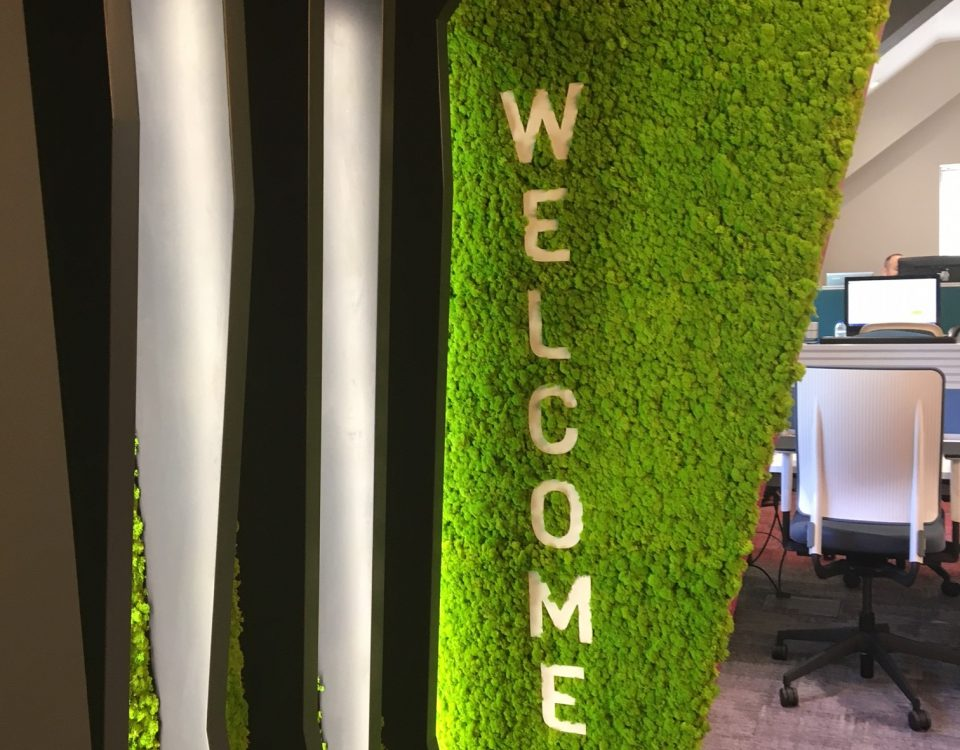 Innerspace Cheshire - Moss Signage