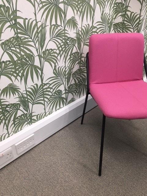 pink carpet tile tecsom carpet tiles innerspace cheshire
