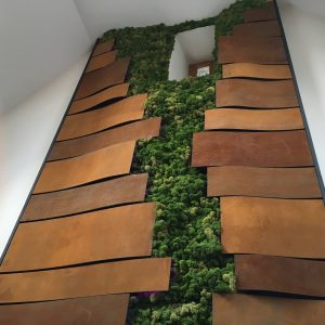 Innerspace Cheshire - Rust Waffle Wallcovering
