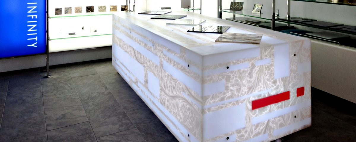 Innerspace Cheshire - Solid Surface - Marblo - Pearl Oyster