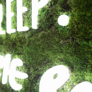 Moss Signage